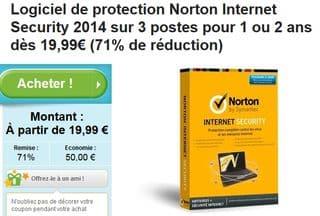 de 20 euros Norton internet Security 2014 Norton internet security ...