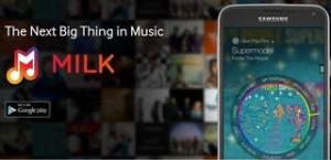 SAMSUNG Milk Musique streaming gratuite