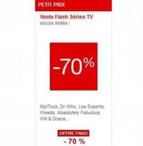 Vente flash : coffrets séries TV à moins 70%