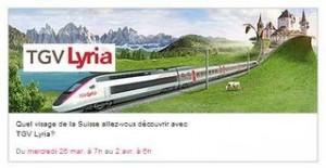 billet de TGV pour la Suisse pas cher