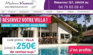 bon plan location villa 250 euros offerts