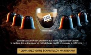 capsule CARTE NOIRE gratuite