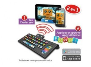clavier educatif Appy Alphabet KD Tech Too