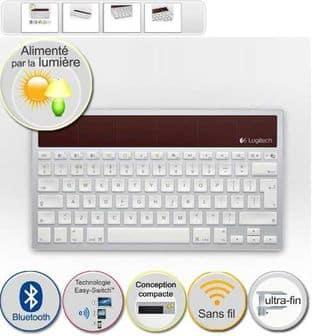 clavier iPad iPhone Logitech K760