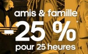 Adidas : moins 25% sur tout le site