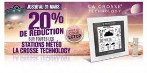 code promo Station Meteo La Crosse Technology