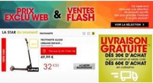 Vente flash Go Sport ! Jusqu'à moins 50% sur plus de 100 articles.