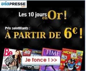 via presse abonnement 6 euros