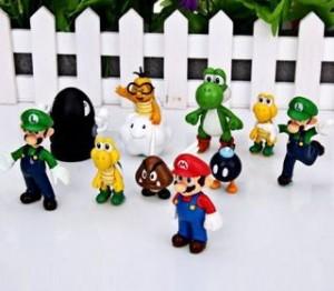 10 figurines Super Mario pour moins de 5 euros port inclus