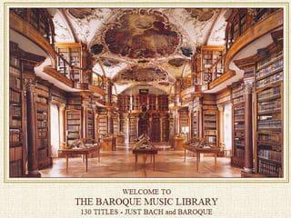 130 albums de Bach et Classique baroque gratuits en téléchargement