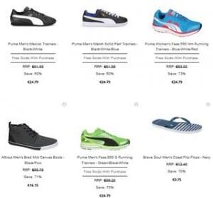 24% de remise immédiate sur les chaussures The Hut