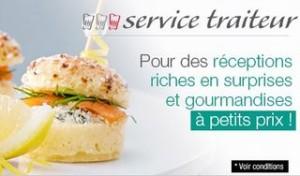 5 euros offerts pour 50 euros d'achats Auchan Traiteur