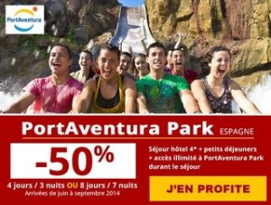 bon plan portaventura 170 euros les 4 jours d acc s au parc 3 nuits h tel 4. Black Bedroom Furniture Sets. Home Design Ideas