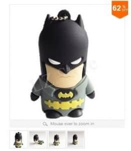 Clé USB Batman 32Go à moins 10 euros