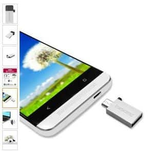 Clé USB / Micro USB 32Go Transcend