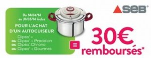 Clipso Seb 30 euros 2014