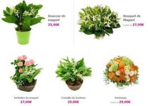 Muguet moins cher 5 euros de remise sur le bouquet nantais for Le bouquet nantais