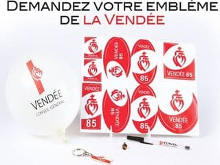 Gratuit : stylo, porte clé, pins… de Vendée