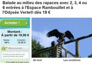 Groupon / Espace Rambouillet + Odysée Verte