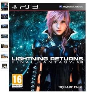 Moins de 30 euros Lightning Returns : Final Fantasy XIII PS3