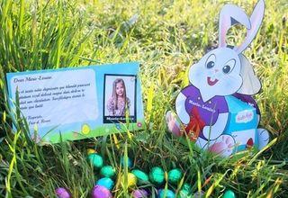 Moins de 9 euros la Lapin de Pâques personnalisé