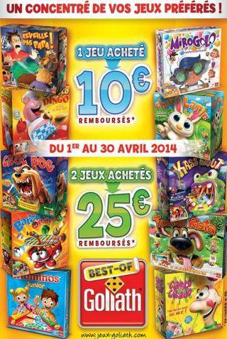 ODR Goliath 2014 10 ou 25 euros