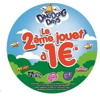 Remboursement Hasbro jouet a 1 euro