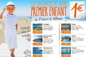 Séjour de votre enfant à 1 euro France et Etranger cet été