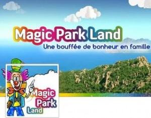 billet Magic Park Land pas cher