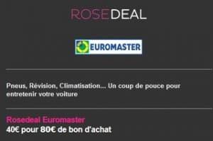 bon plan Euromaster vente privee