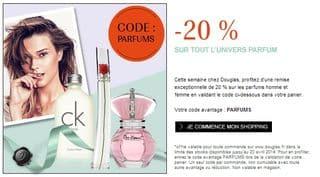bon plan Parfum Douglas