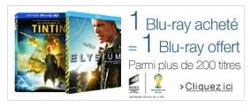 bon plan blu-ray 1 gratuit pour 1 achete