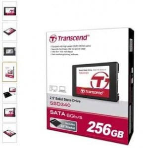 memoire SSD 256 Go Transcend pas chere