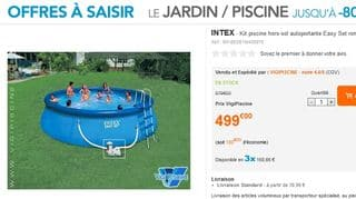 Kit piscine 5,49 m de diamètre Easy Set INTEX