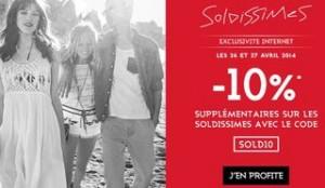 10% de remise supplémentaire sur les Soldes Galeries Lafayette