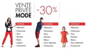 Vente Privée mode chez Amazon avec 30% de remise dès 40 euros sur des milliers d'articles.