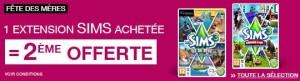 1 Sims 3 gratuit pour 1 Sims acheté