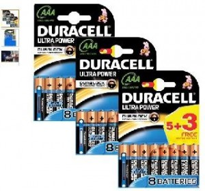 24 piles LR3/AAA Duracell Ultra Power