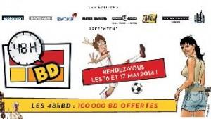 48h BD BD gratuite sans obligation achat le 16 et 17 mai