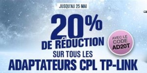 Adaptateur CPL TP-LINK moins cher