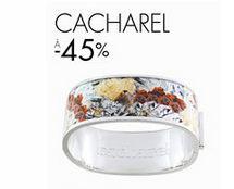 Moins 45% sur les bijoux Cacharel (+ 20% suppl. dès 50 euros)