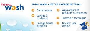 Lavage auto Total Wash : 45 euros pour 20 euros (valable dans toute la France)!