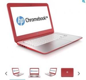 Moins de 250 euros l'ordinateur portable Chromebook HP