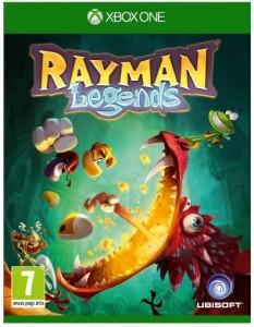 Moins de 19 euros Rayman Legends pour Xbox One port inclus