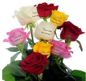 Spécial fleurs fête des mères : 3€ de remise et roses imprimées sur 123fleurs