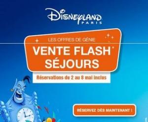 Vente flash DisneyLand 6 jours pour en profiter