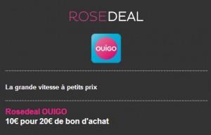 Vente privée TGV Ouigo
