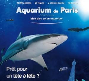 billet Groupon Aquarium de Paris pour 4 personnes