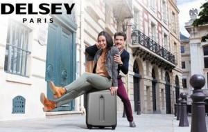 5 euros les 30 de remises sur les valises delsey en magasin ou en ligne. Black Bedroom Furniture Sets. Home Design Ideas