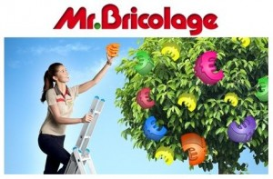 20% de remise en magasin Mr Bricolage pour 5 euros